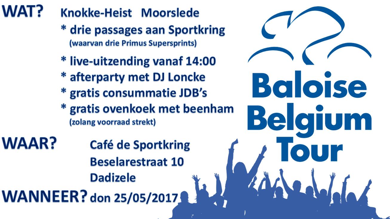 Poster - Baloise Belgium Tour - 25-05-2017